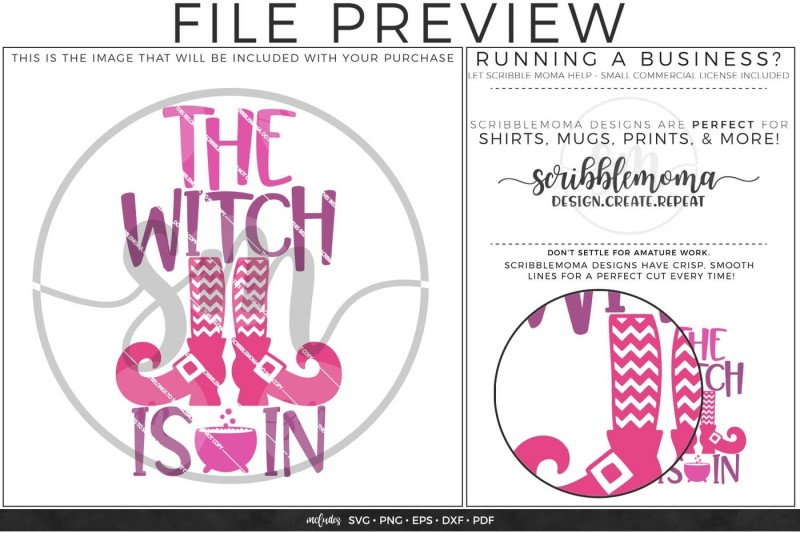 Witch Is In Svg By Scribblemoma Graphics Thehungryjpeg Com