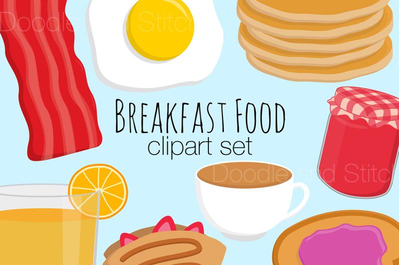 breakfast-food-clipart-set