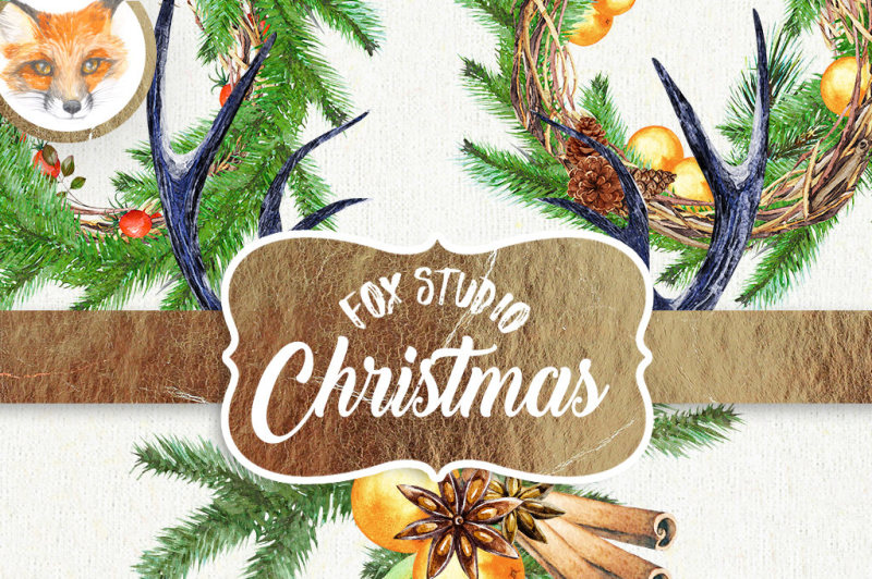 watercolor-clipart-christmas-wreath-clipart-holiday-clipart-pinecone-clipart-christmas-watercolor-wedding-clipart-wedding