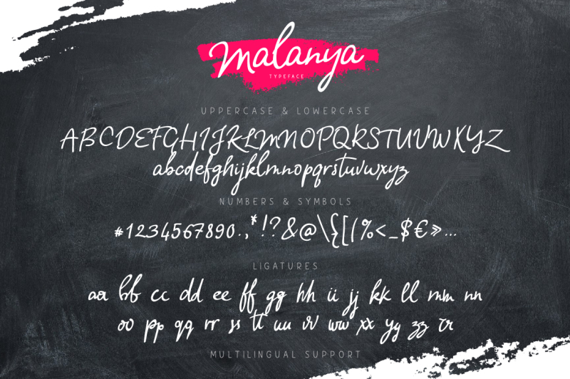 malanya-typeface