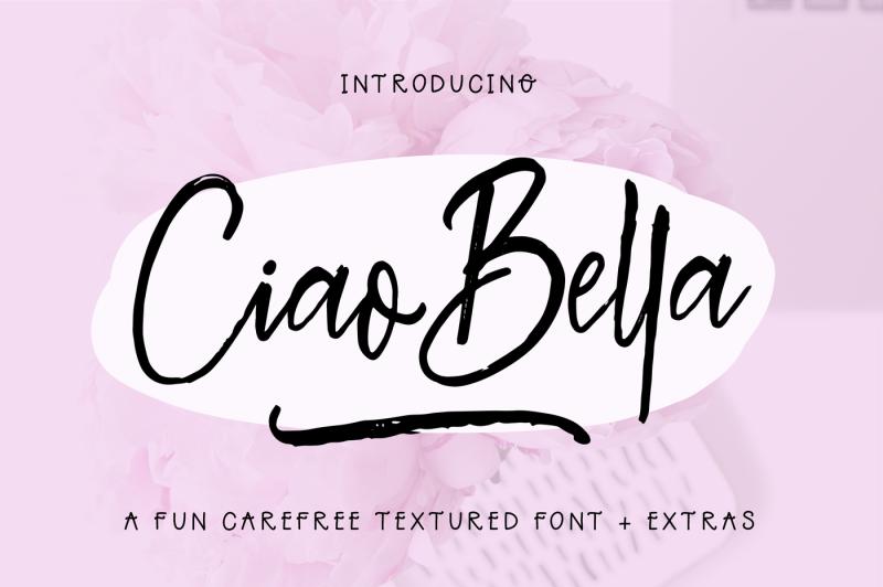ciao-bella-font-extras