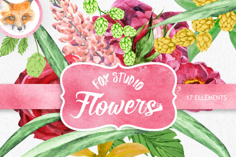 watercolor-flower-clipart-peony-clipart-spring-clipart-pink-flower-boho-flowers-clipart-hand-painted-floral-clip-art-diy-invite