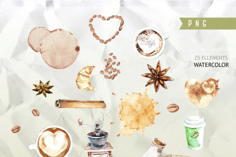 coffee-clipart-cafe-clipart-food-watercolor-clipart-watercolor-graphics-pastries-clipart-food-illustration-desserts-cookies-clipart