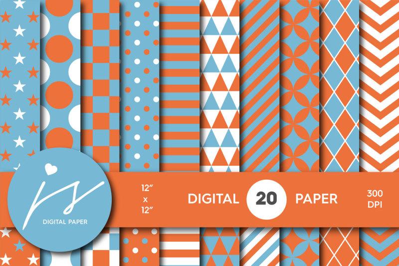 blue-and-orange-digital-paper-mi-624
