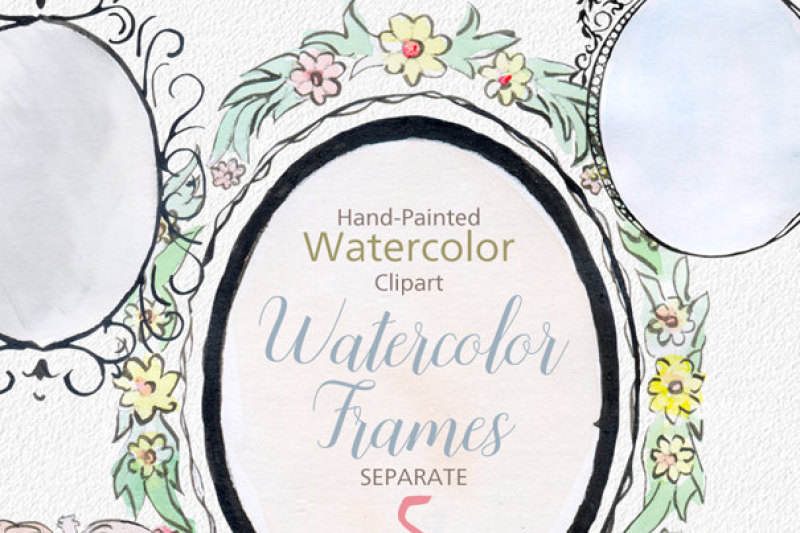 digital-watercolor-frames-clipart-watercolor-png-frames-watercolor-banners-png-digital-label-frame