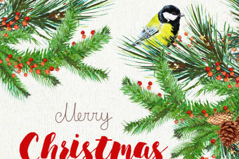 christmas-birds-tit-watercolor-bouquets-and-wreaths-merry-and-bright-christmas-decoration-hand-painted-clipart-new-year