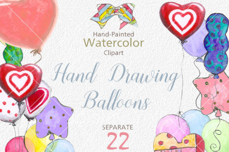 watercolor-balloon-clipart-watercolour-balloons-clipart-hand-drawin-clipart-pink-watercolor-balloon-overlays-digital-instant-download