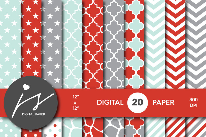 mint-red-and-gray-digital-paper-bu-36