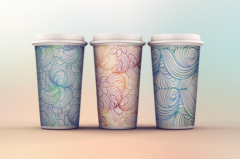 vibrant-waves-seamless-patterns-set