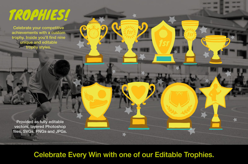 running-achievement-logos-and-graphics