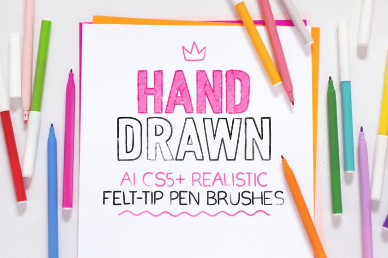 ai-realistic-felt-tip-pen-brushes