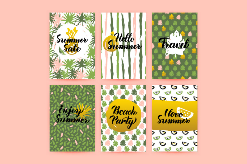 summer-greeting-posters