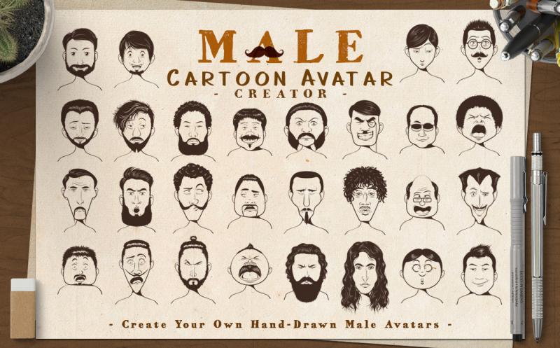 male-cartoon-avatar-creator