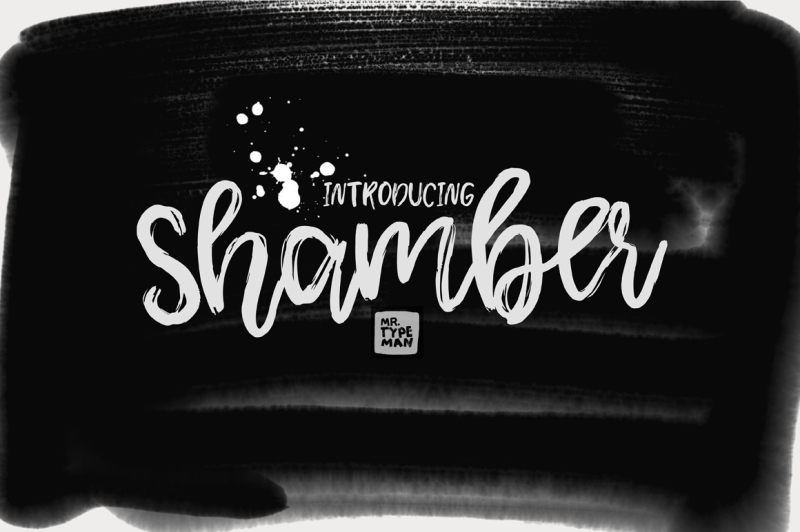 shamber-handwritten-script