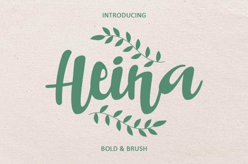 heina-typeface