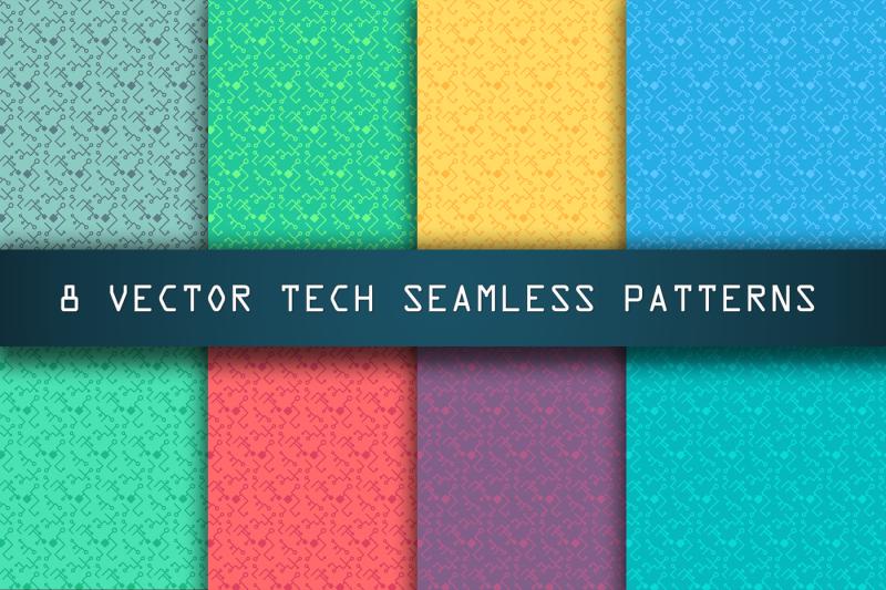 high-tech-seamless-patterns