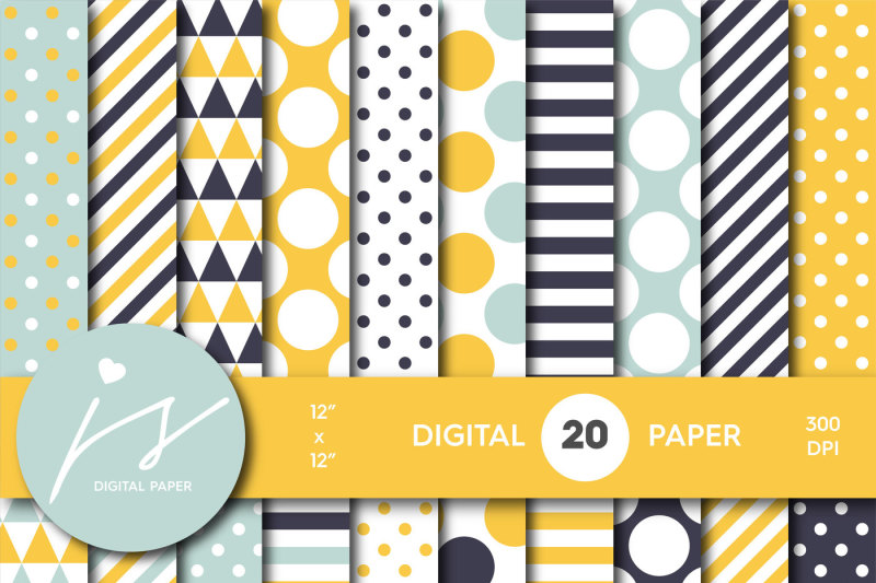 blue-and-yellow-digital-paper-mi-692
