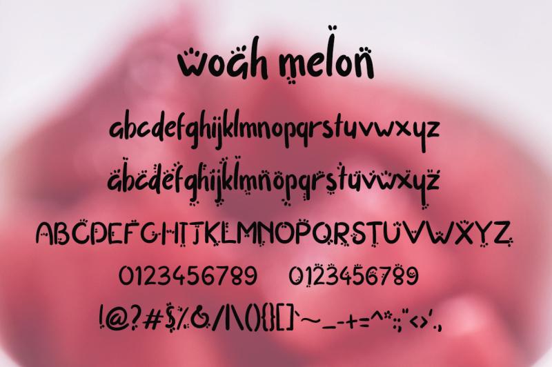 woah-melon-font
