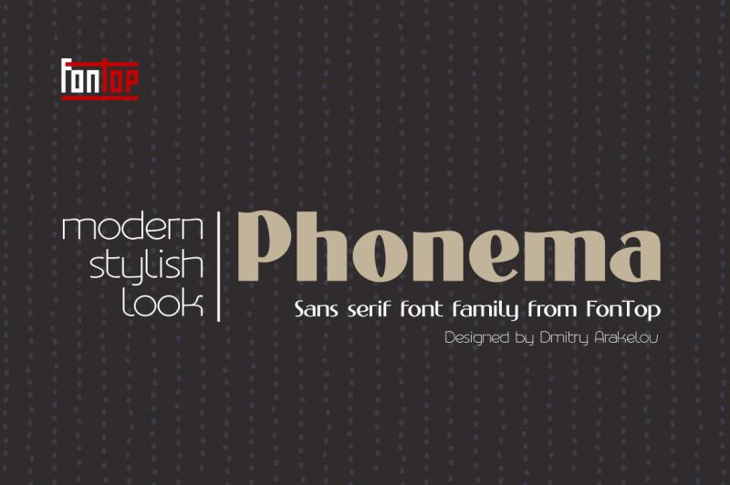 phonema-typeface