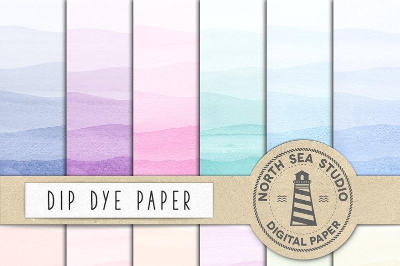 dip-dye-watercolor-paper