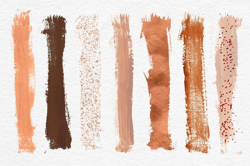 copper-brush-strokes-clipart
