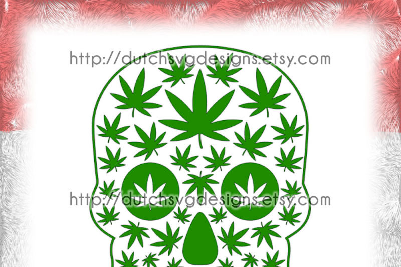 2-skull-cutting-files-with-weed-leaves-in-jpg-png-svg-eps-dxf-for-cricut-and-silhouette-sugar-skull-svg-weed-svg-marijuana-svg-cannabis