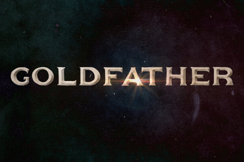 goldfather-typeface
