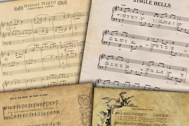 Christmas Songs By Rwd Thehungryjpeg Com