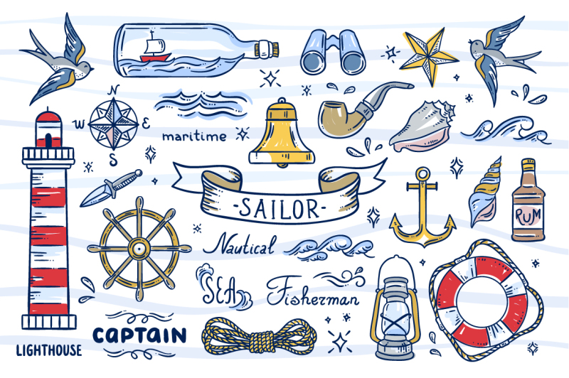 sailor-illustrations