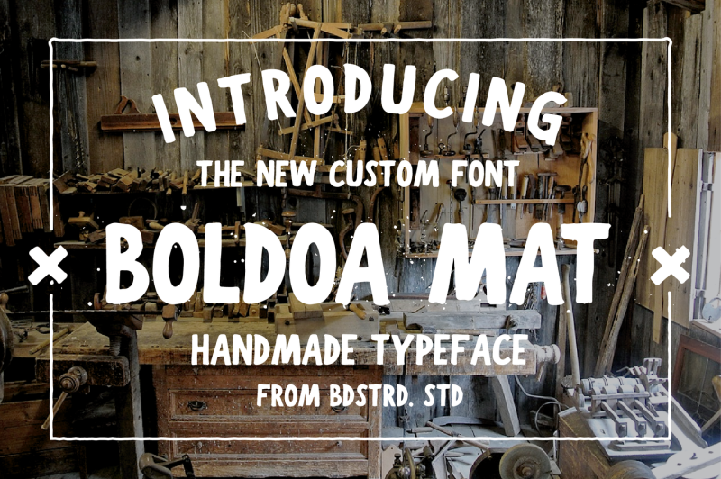 boldoa-mat-handmade-typeface