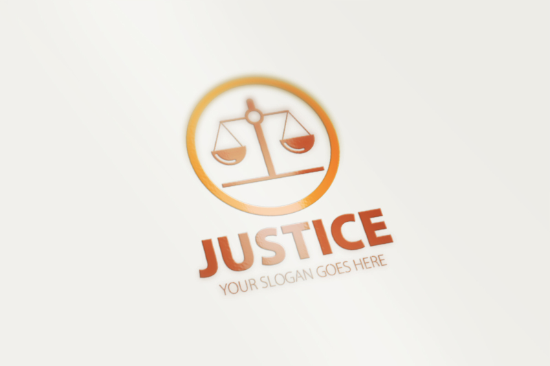 justice-logo-template