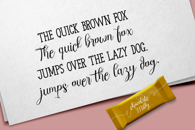 chocolate-milky-font-duo