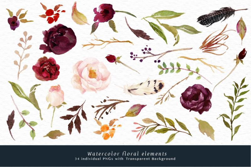 watercolor-flower-clip-art-marsala