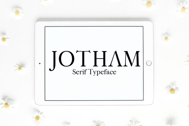 jotham-serif-typeface