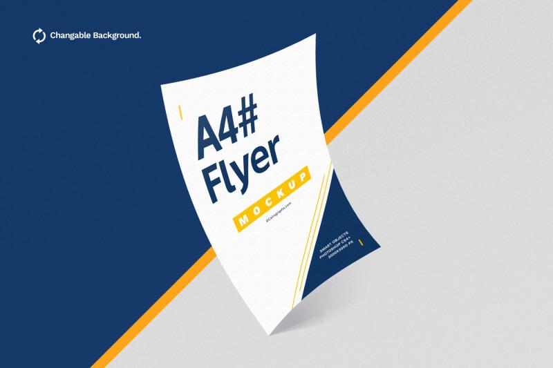 Free Posters & Flyers Mockups Vol.3 (PSD Mockups)