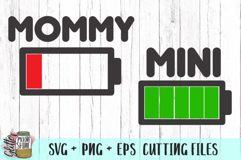 mommy-and-mini-batteries-bundle-svg-png-eps-cutting-files