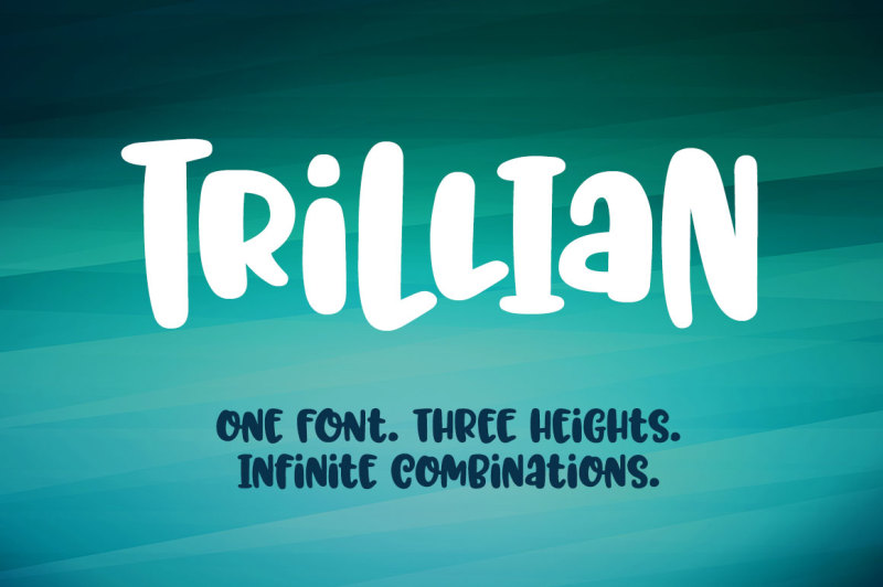 trillian-1-fun-font-3-heights