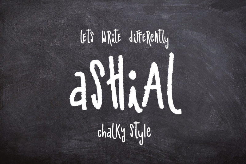 50-percent-off-ashial-new-chalky-font