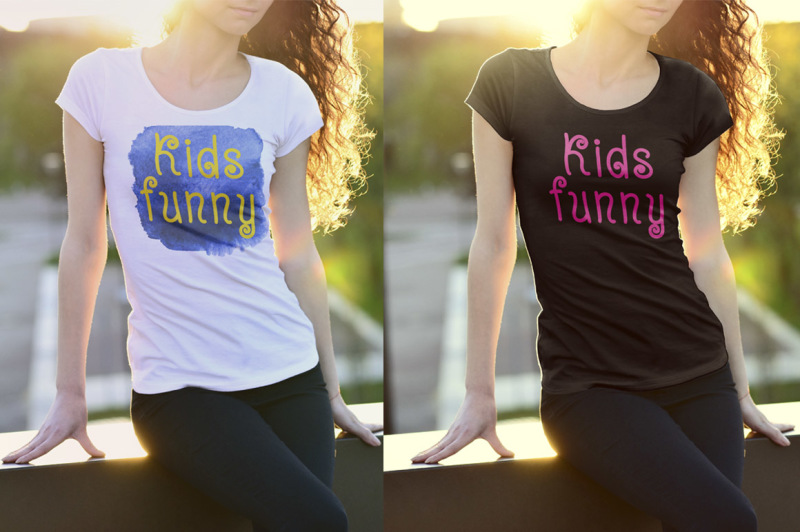 kidsfunny-a-cheerful-children-s-font