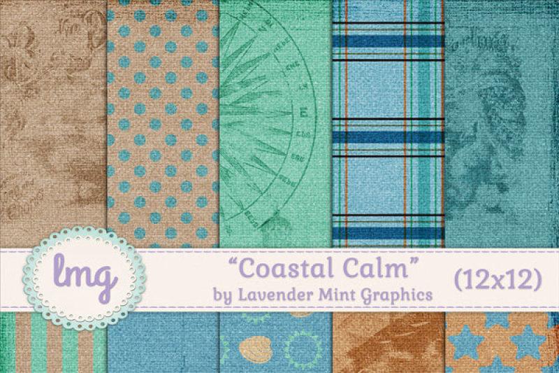 coastal-calm-scrapbook-paper-pack