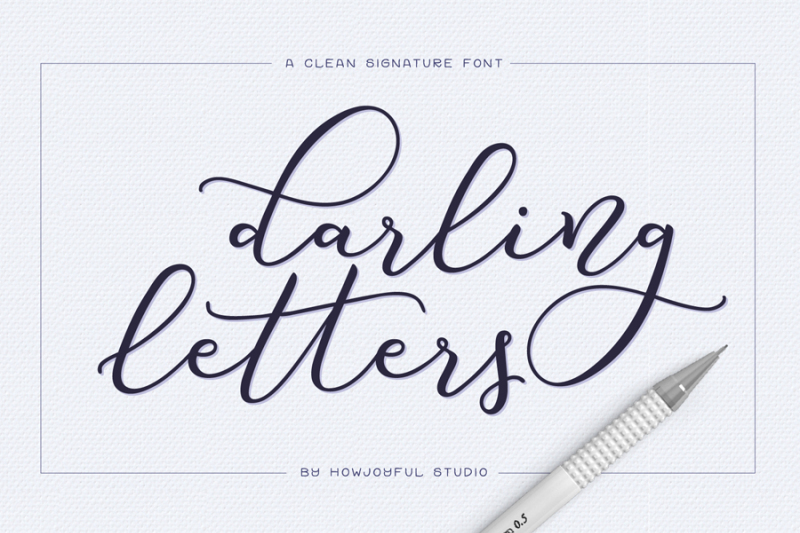 darling-letters-script-font