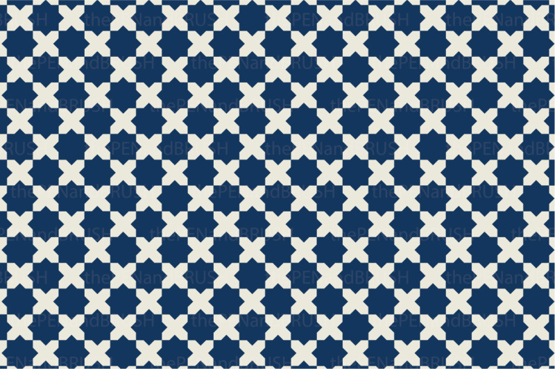 moroccan-seamless-patterns-vector
