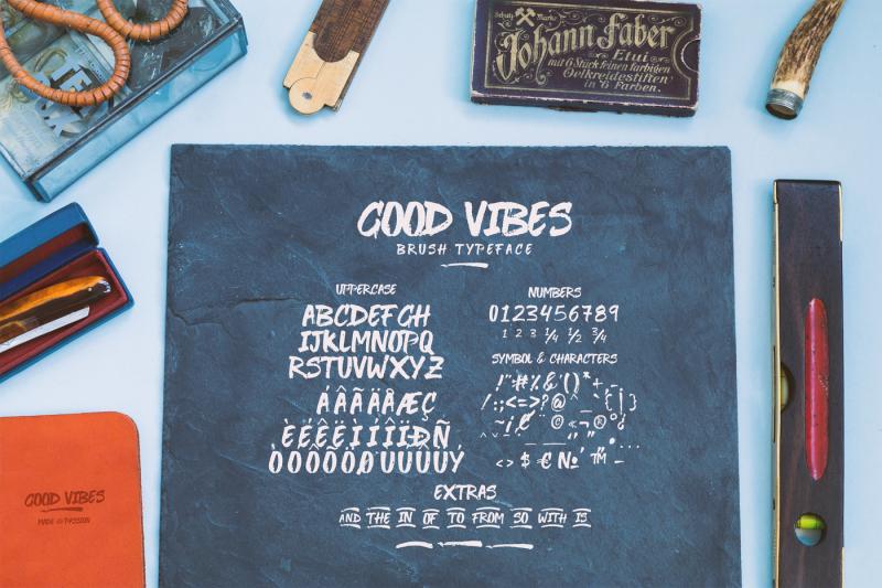 good-vibes-bonus-font