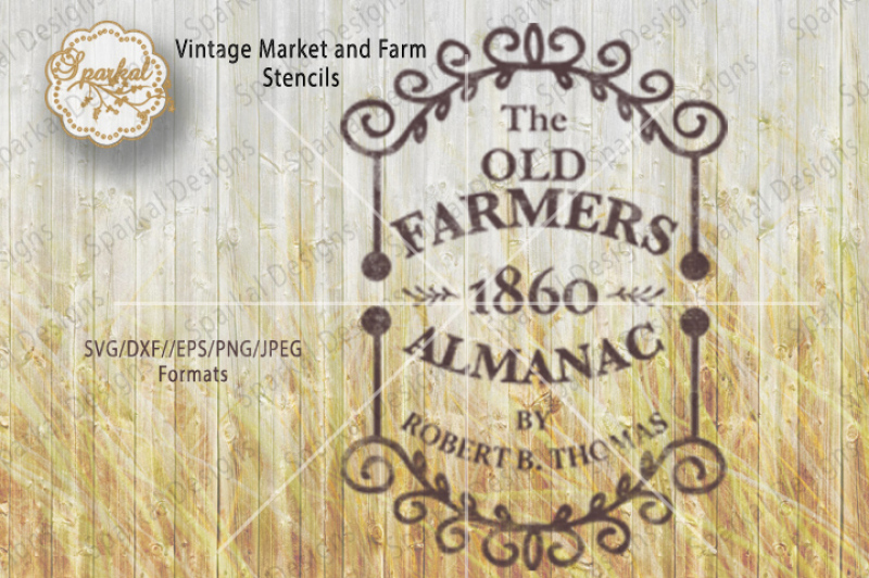 the-old-farmers-almanac-1860-cutting-file-svg-dxf