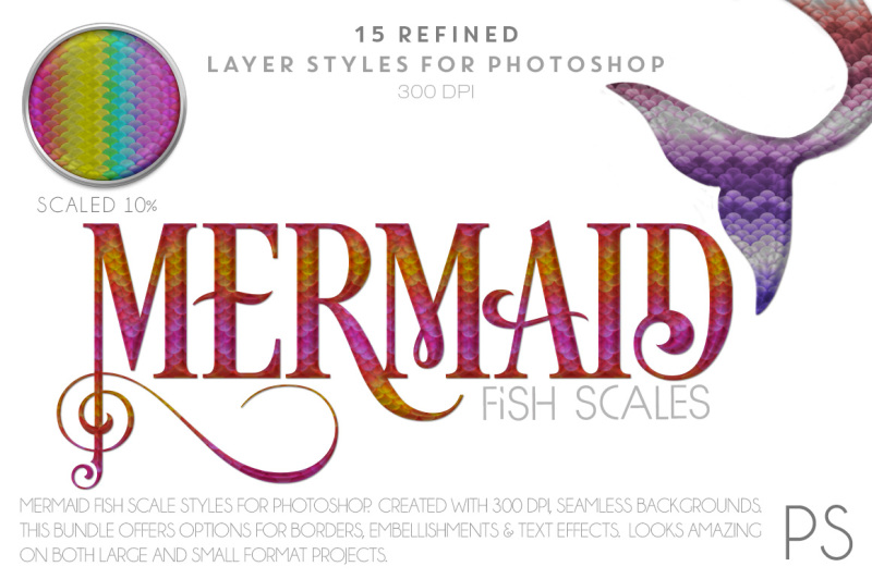 mermaid-fish-scales