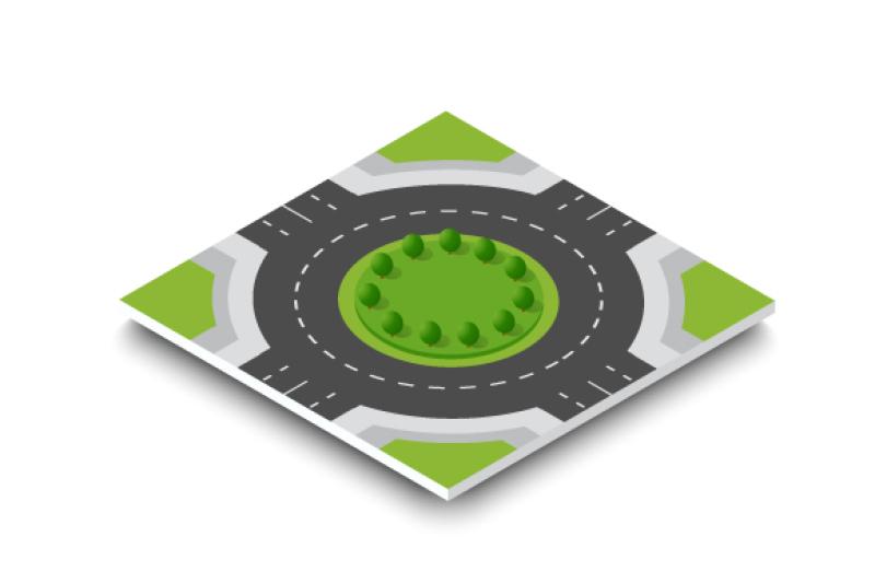 City Module Creator Road City Eps Svg Png By Alexzel