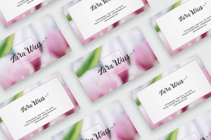 business-card-template-with-flowers