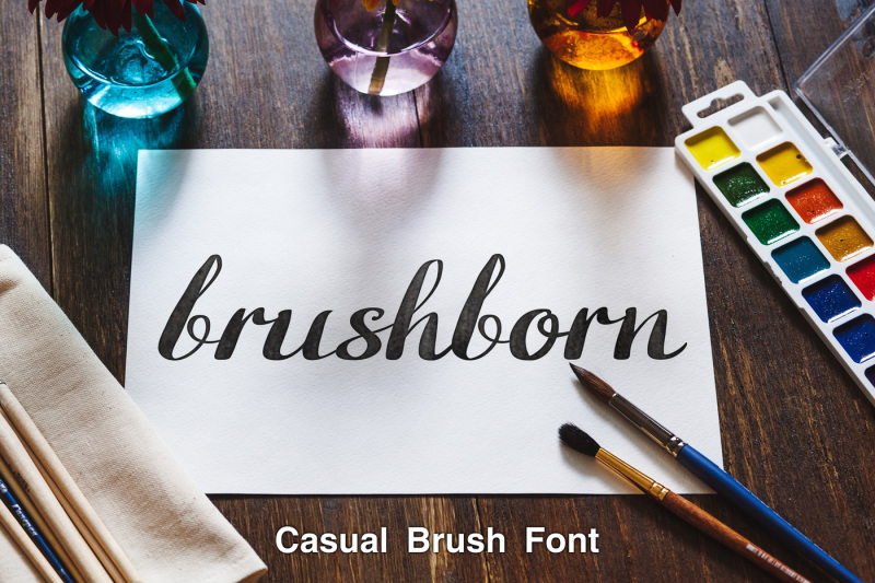 brushborn-brush-font