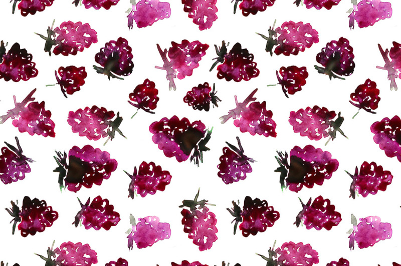 very-berry-watercolor-patterns