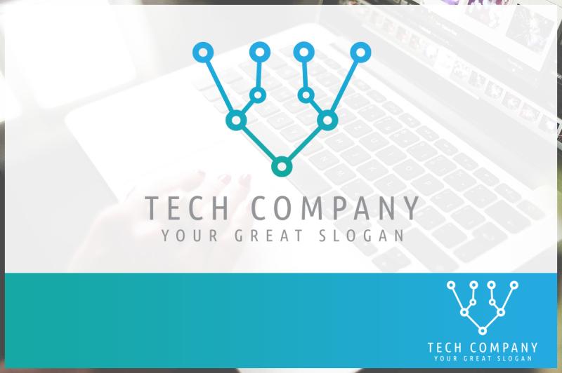 abstract-technology-company-logo